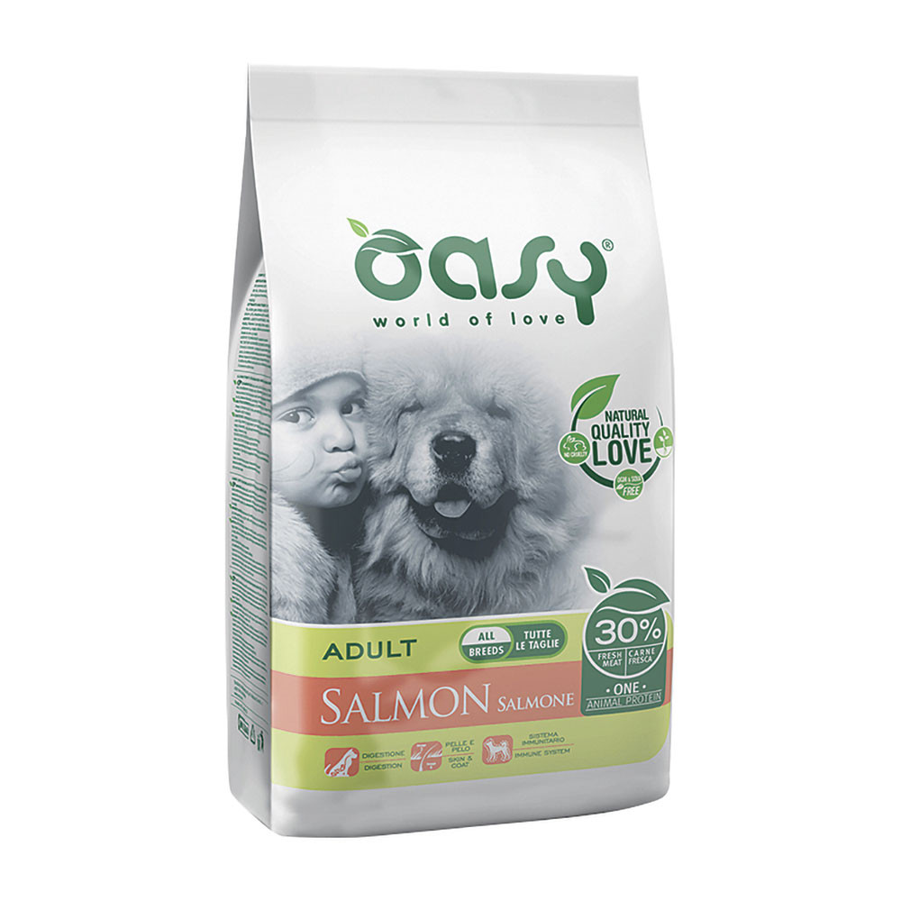 Oasy One Protein Adult Salmone 2,5 Kg
