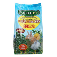 Naturalpet CRUNCY PELLETS conigli 900 gr