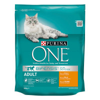 PURINA ONE CAT AD.800G POL/CEREALI INT.