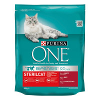 PURINA ONE CAT STERIL.800G MANZO/FRUMENT