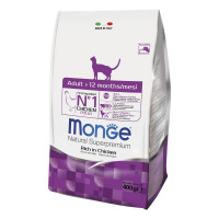 Monge Croccantini cat adult pollo 400 gr