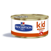 Hill's Prescription Diet K/D feline 156 gr