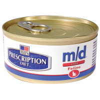 Hill's Prescription Diet M/D Feline 156 gr