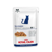 Royal canin Neutered weight balance 12x100gr feline