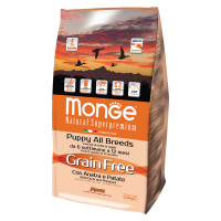 Monge All Breeds Puppy Anatra e Patate GRAIN FREE 2,5 kg