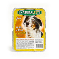 Naturalpet Junior Pollo e Riso 2x150 gr | ean: 8032611671999